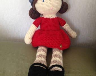 Ariadne, crochet doll