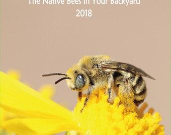 Native Bee Calendar 2018