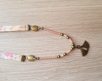 Liberty necklace and Pearl pastel