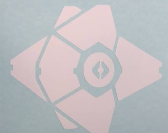 Destiny Ghost Vinyl Decal