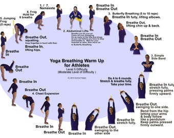 Yoga Breathing Warm Up for Athletes