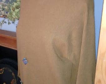 Beautiful Vintage Cashmere  Jumper (Fudge colour)