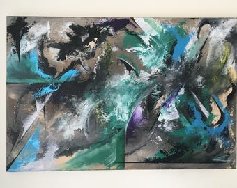 Abstract Canvas 76X50cm
