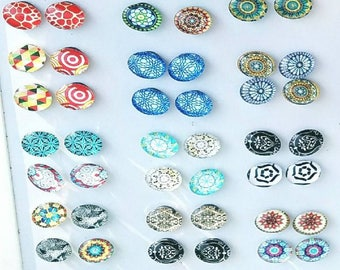 Colorful Stone Magnets