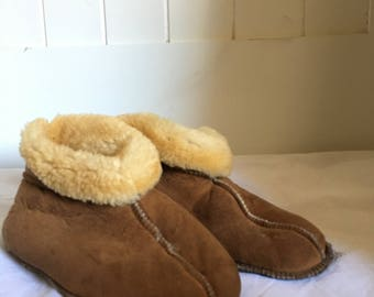 Ankle high Moccasin Slippers