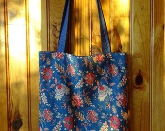 Bag fabric Tote Bag way: the duo
