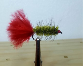 The Woolly Worm Fly
