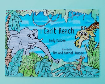 I can't reach - children's picture book