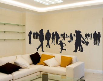 People wall sticker, face stickers, vinyl wall decal sticker, wall decoration, eco removable vinyl face decals