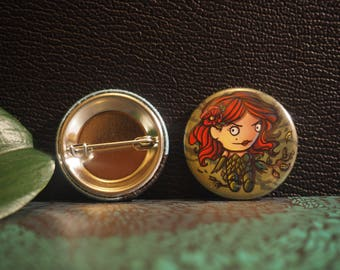 Badge 32 mm - Poison Ivy