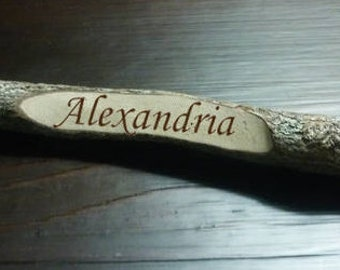 Customized Real Wood Decorative Pencil