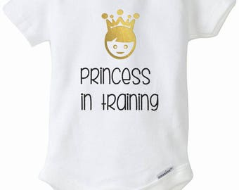 Personalized onesie: Princess in Training