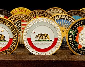 California Los Angeles Mission Commemorative Mission Coin