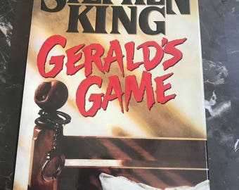 """First Edition: Stephen King """"Gerald's Game"""" *mint*"""