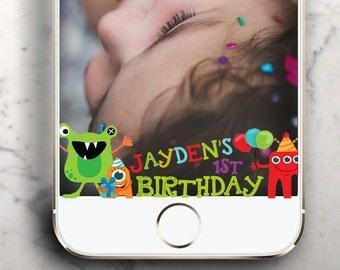 Little monster Theme Party kid Birthday !