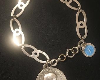 Vintage Religious Bracelet