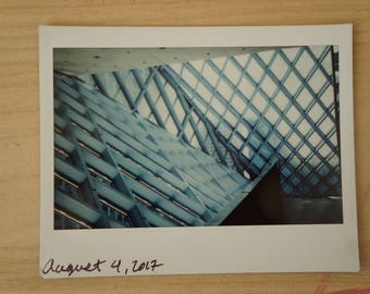 Original Fujifilm Instax Wide Photo of Seattle Public Library