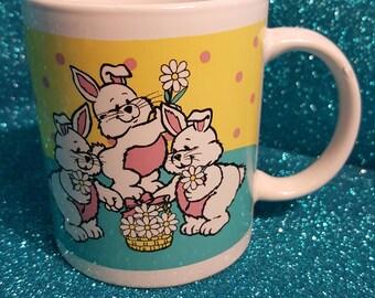 Vintage Easter Mug Circa 1980's