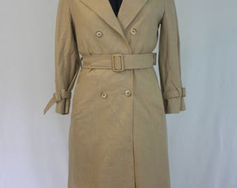 Classic Style 1970's Pendleton Wool Trench Coat