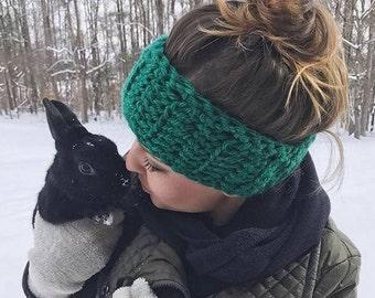 Chunky Crochet Headband