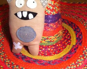 7 - Chico the sweet little monster blanket