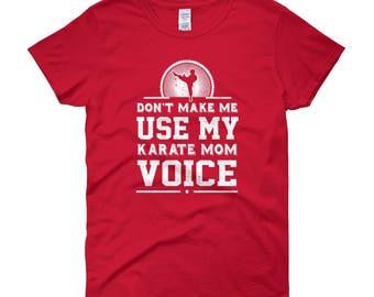 Karate Mom T Shirt