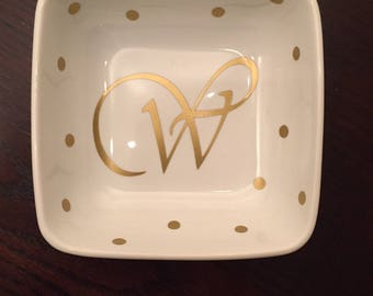 Ring Dish - Personalized Jewelry Holder