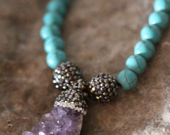 Love of AMETHYST and TURQUOISE Stone