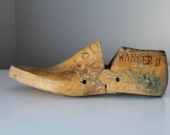 Vulcan Brockton Wooden Shoe Form | Cobbler Shoe Form
