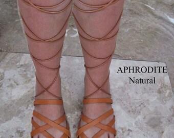 Sandals Women's,Καλοκαιρινά παπούτσια,Lace up Santals,Greek Santals,Gladiators  Santals,Handmade Sandals,Natural Leather Sandals  APHRODITE