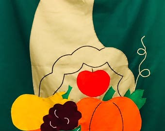 Decorative Flag: Cornucopia