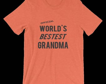 Great Gift To Grandma - Grandma's Tshirt. Joke Gift for Grandma's Birthday, Grandma's Christmas Gift. T-Shirt For Grandma. Grandma's Gift