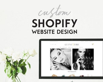 Shopify Ecommerce Website - Online Store - Ecommerce - Shopify Site Design - Custom Shopify - Shopify Theme - Shopify Template