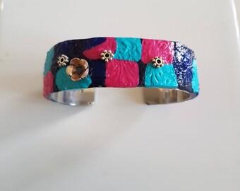 Multicolor Cuff Bracelet