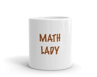 Math Lady Mug