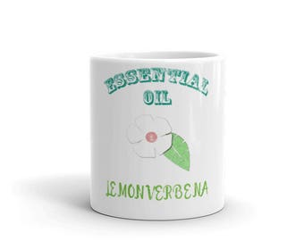 Essential Oil Lemon Verbena Mug