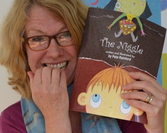 Published 15 November 2017, The Niggle, a funny rhyming children's picture book about resilience, signed by author with personal dedication