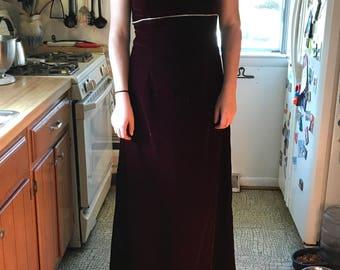 Jessica McClintock Velvet Gem Dress