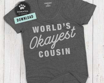 Funny SVG for Cousin | Funny Gift Cut File | Funny Gift SVG | Funcle SVG | Funny Uncle Svg Funny Family Svg Clipart Dxf Png File for Cricut