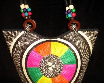 HANDMADE Colombian Cana Flecha Shoulder Bag