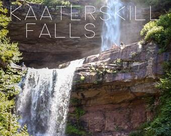POSTCARD - Kaaterskills Falls, The Catskill Moutains