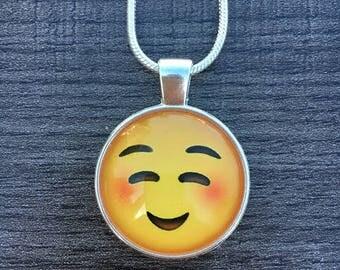 emoticon necklace