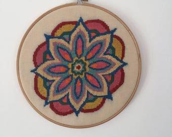 Bright colours Mandala