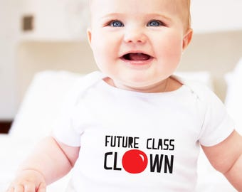 clown gift, class clown, infant gift, cute baby gift, future class clown