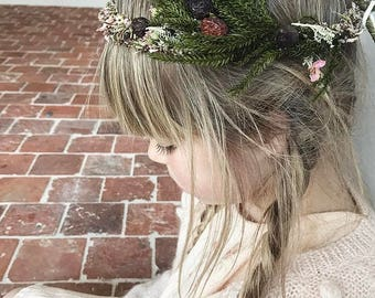 Dried flower Crown Ellemieke