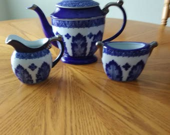 Tea Set Oriental Design
