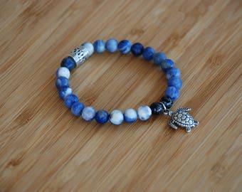 Harmony and Wisdom Gemstone Bracelet