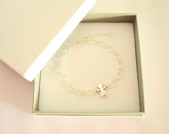 It is a GIRL / It is a BOY bracelet. Baby shower gift