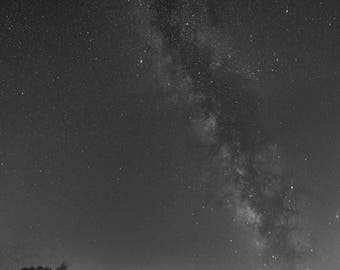 Small Such As We - Milky Way Over Appalachia, Milky Way Photography, Astrophotography, Night Photography, Starry Sky, Stars, Fine Art