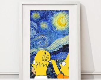 The Simsons/Van Gogh